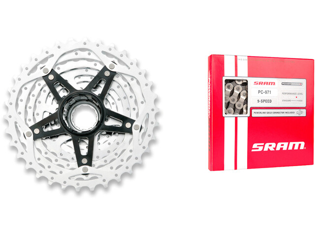 SRAM PG-980 Powerglide II & PC-971 Power Chain II 11-32 9-fach